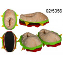 wholesale Shoes: Hamburger slippers, size 37-42