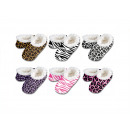wholesale Shoes:Snoozies - Animal Prints