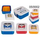 Set de 3 boîtes petit-déjeuner VWT1 Bus