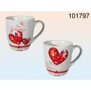 grossiste Tasses & Mugs: coeurs tasse en céramique