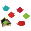 Silicone stand for tea bags