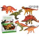 figurines of dinosaurs