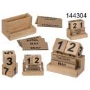 nagyker Irodai és üzleti berendezések: Fából készült íróasztal naptár