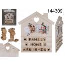 ingrosso Accessori e ricambi: Cornice per foto di famiglia con clip e iscrizioni