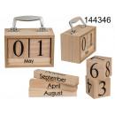 Großhandel Bausteine & Konstruktion:Kofferkalender aus Holz
