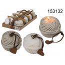 groothandel Kaarsen & standaards:Kaars bal van wol