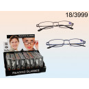 wholesale Reading Glasses: Metal reading  glasses with PVC pouch