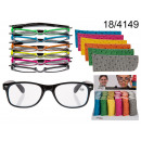 wholesale Reading Glasses: Reading glasses with neon pouch