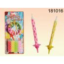 grossiste Articles de fête: Un ensemble de 24  bougies d'anniversaire