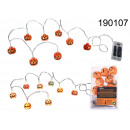 wholesale Light Garlands:Girlanda LED pumpkins