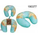 Kissen Halskarte der Welt