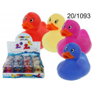 Duck bath changing color
