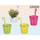 grossiste Plantes et pots: pot en métal pour accrocher