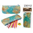 mayorista Artículos de regalo: Estuche para lápices del mapa mundial