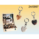 wholesale Gifts & Stationery: Heart Pendant natural stone