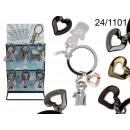 grossiste Porte-cles: Porte-clés avec le coeur et ange
