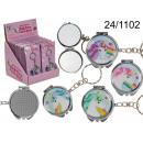 grossiste Make-up Accessoires: Porte-clés - un miroir licorne