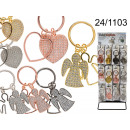 wholesale Food: Key ring with heart / angel