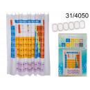 La tabla periódica de cortina de ducha