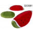 Pillow piece of watermelon