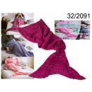 wholesale Cushions & Blankets: blancket crimson siren 180 cm