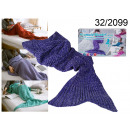 wholesale Cushions & Blankets: blancket purple siren 140 cm