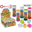 wholesale Outdoor Toys: Soap bubbles - colors (production Italy)