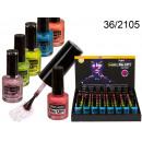 wholesale Nail Varnish: UV nail polish with flecks - manufactured by