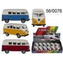 voiture de modèle VW Bus T1 1963