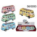 Großhandel Spielwaren: Modellauto VW Bus T1 1962