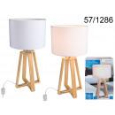 grossiste Lampes: Lampe 40 cm - support en bois