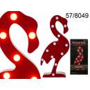 cygne décoratif LED