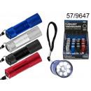 grossiste Lampes de poche:9 LED Flashlight