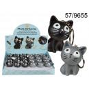 groothandel Stationery & Gifts: Kitten  sleutelhanger met geluid en LED