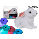 Großhandel Kerzen & Kerzenhalter:Glühende LED Hase