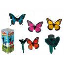 wholesale Garden Decoration & Illumination: Butterfly on a solar battery