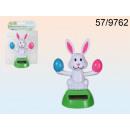 Figurine solar Easter bunny