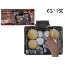 groothandel Muziekinstrumenten:Mini-drums met muziekmat
