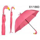 A flamingo umbrella