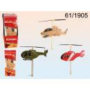 hélicoptère de mousse avec une hélice