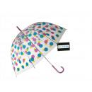 ingrosso Ombrelli: Ombrello con puntini colorati