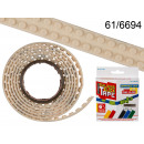 wholesale Light Garlands:Tape 125 cm - white