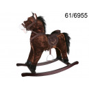 wholesale Kids Vehicles:Rocking horse brown