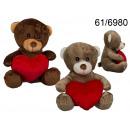 wholesale Dolls &Plush:Bear with heart