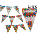 wholesale Displays & Advertising Signs: Birthday banner with flags