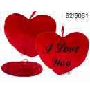 wholesale Cushions & Blankets:Pillow heart I love you