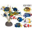 Großhandel Magnete: Plüsch-Magnet - tropische Fische