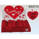 ingrosso Articoli da Regalo & Cartoleria: cuore della peluche ti amo