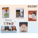 wholesale Houshold & Kitchen: Metal box - a pack of cigarettes