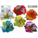 Buttons flower hair Hawaiian